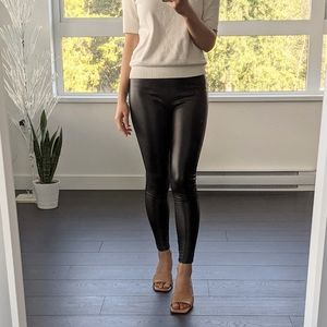 ASOS High Rise Vegan Leather Leggings